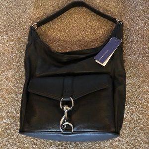 Black Rebecca Minkoff Hudson hobo purse